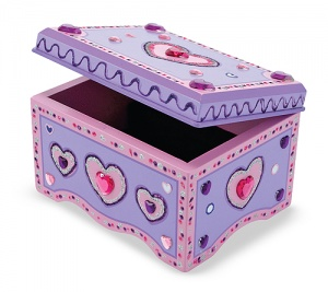 Melissa & Doug DYO Jewellery Box